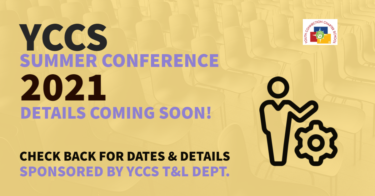 Summer Conference Info COMING SOON